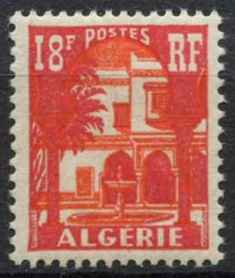 Algeria 1954-7 SG#338, 18f Courtyard Definitive MNH #A80959