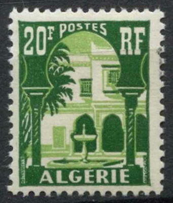 Algeria 1954-7 SG#339, 20f Courtyard Definitive MNH #A80960