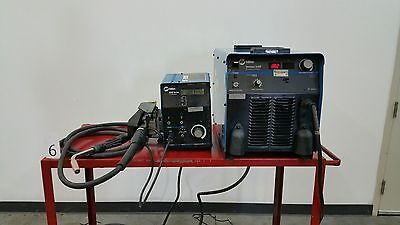Miller Electric Invision 456P Welder w/ 60M Wire Feeder, Cables, Regulator, etc