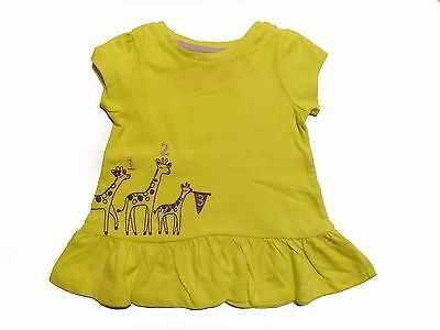 NWT Girl's Gymboree Painting Pals yellow short sleeve shirt ~ 12 18 24 months 2T