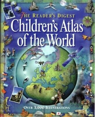 Reader's Digest Children's Atlas of the World Hardback Book The Cheap Fast Free