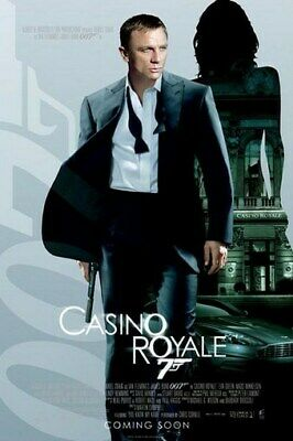 JAMES BOND Casino Royale 2006 MOVIE POSTER - 007