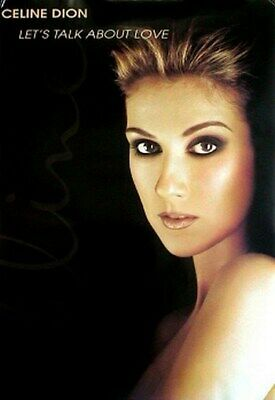 CELINE DION POSTER Let's Talk about Love HOT NEW 24x36
