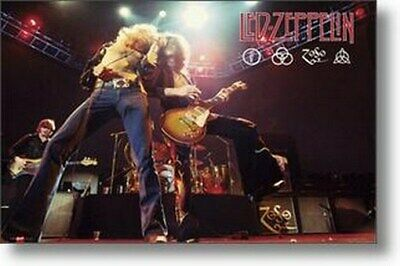 LED ZEPPELIN POSTER Robert Plant - Jimmy Page RARE NEW