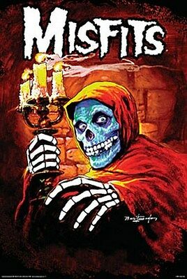 THE MISFITS MOVIE POSTER American Psycho Michale Graves
