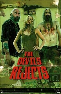 The Devil's Rejects New 24X36 Movie Poster Rare Print