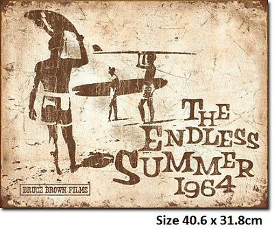 Surfing - The Endless Summer Rustic 1863 Made in USA