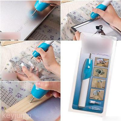 Jewelry Glass Plastic Metal Electric Engraving Carve Tool Sculpture Rotary Pen