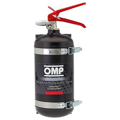 OMP Hand Held AFFF Fire Extinguisher/Bottle 2.4 Litre With Brackets - Race/Rally