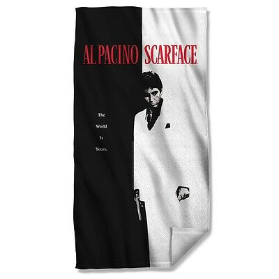 """Scarface Movie Poster Licensed Beach Towel 30"""" X 60"""""""