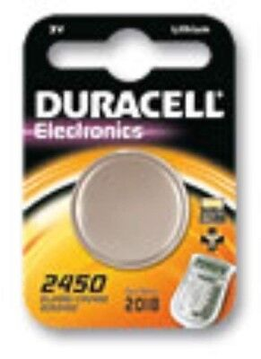 Duracell Button Cell 2450 Cr2450 Dl2450 Lithium Battery