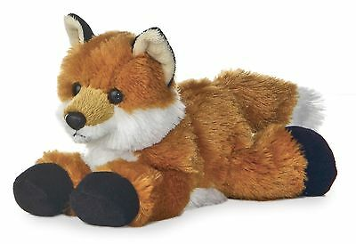 "Aurora Foxxie RED FOX  8"" ong Flopsie Plush Floppy Stuffed Animal NEW"