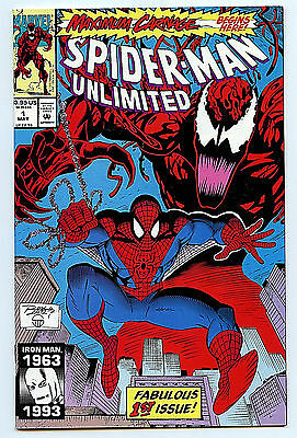 Spider-man Unlimited #1  NM+ 1993 Maximum Carnage Marvel Comics Amricons H1