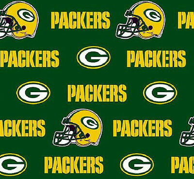 Throw Pillow Cover Green Bay Packers 100% Cotton 16X16