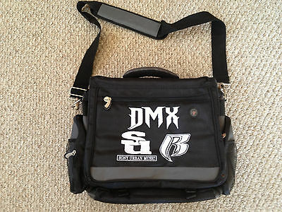 Extremely Rare Dmx Computer/messenger Bag!!! Try To Find Another On Ebay! Rare!