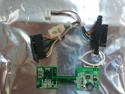 ARISTOCRAT UBA RS232 ADAPTOR BOARD AND PLUG FOR UBA BILL TRANSPORTS MK-7 & MK-6
