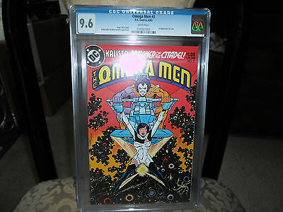 Omega Men # 3 NM+ 1st LOBO appearance CGC 9.6