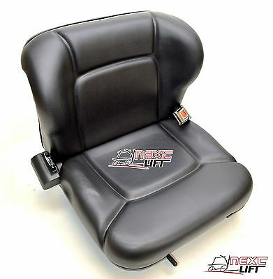 New Toyota Forklift Seat With Retractable Seatbelt Belt Premium Quality!