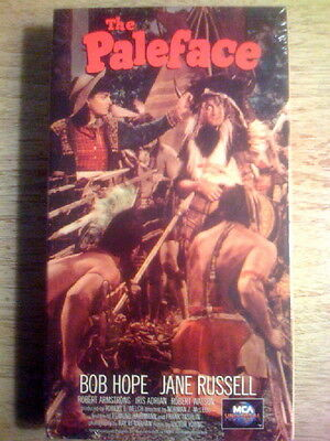 THE PALEFACE vhs BOB HOPE comedy classic JANE RUSSELL Rare 1948 BRAND NEW!