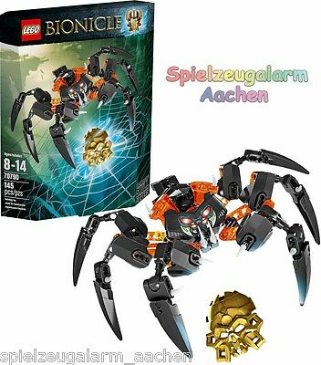 LEGO 70790 Bionicle Herr der Totenkopfspinnen Lord of Skull Spiders Le seigneur