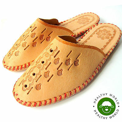 BARGAIN! Men's Shoes, Slippers, Genuine LEATHER (including the Sole), Size 40-45