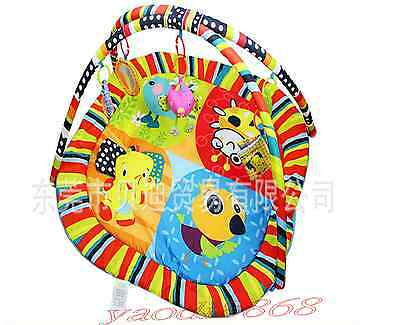 New-Happy bird music game blanket game pad 0-1 infant baby toys-2015