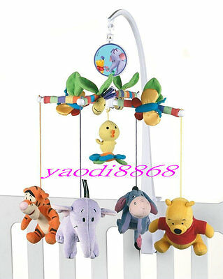 2015- Musical Mobile Playgro  Baby Winnie The Pooh Cot Crib