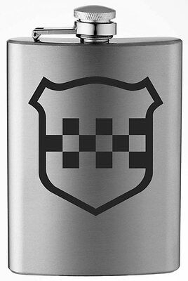 Inactive WWII Era US Army Infantry Divisions (76-106) 8oz Stainless Steel Flask