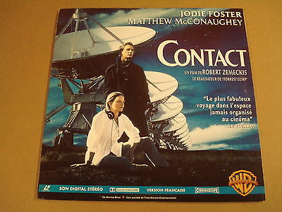Laserdisc Version Francaise / Contact ( Jodie Foster )