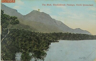 The Bluff Hinchinbrook Passage , North Queensland Early 1900'S Postcard