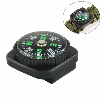 Compass Slip Slide on Watch Band Wrist For Outdoor Survival Paracord Bracelets