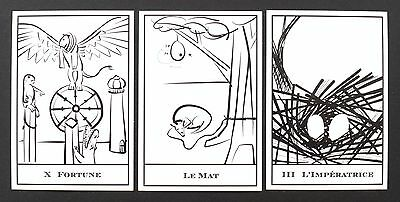 Tarot Waiting to Happen Cards Deck Self Published Limited Edition