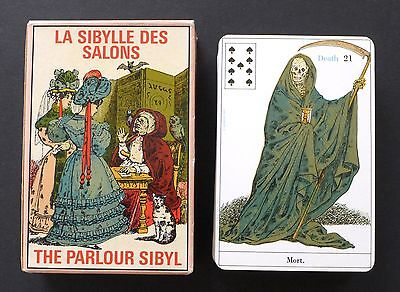 Vintage The Parlour Sibyl Fortune Telling Oracle Cards Deck Grimaud 1969