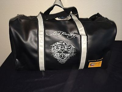Ed Hardy Black Duffel Bag - New With Tags!