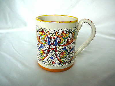 Meridiana Ceramiche Hand Painted Pottery  Ceramic Coffee Mug MADE IN ITALY.