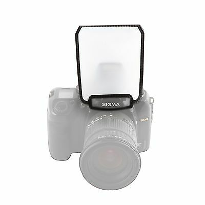 Movo Photo SB4 Universal White Screen On-Camera Pop-Up Flash Diffuser for DSLR