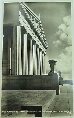The National War Memorial Of Victoria Vintage Real Photo Postcard