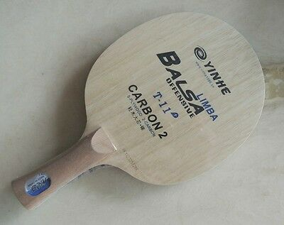 Galaxy Yinhe T-11+ Limba Balsa Off Table Tennis Blade New