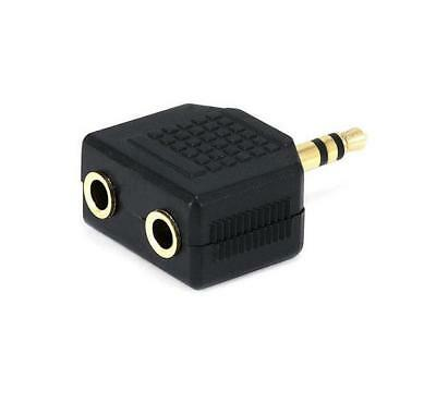 10pcs 3.5mm Jack to 3.5mm Headphone Y splitter adapter p05b