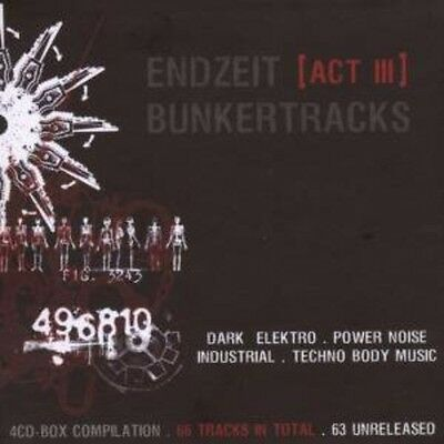 Various Artists - Endzeit Bunkertracks-Act III Various [New CD] Boxed Set