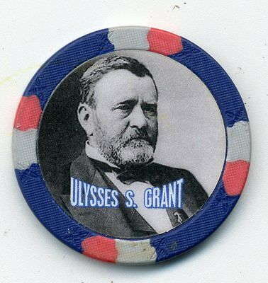 Ulysses S. Grant   Civil War General And President  Collector Chip