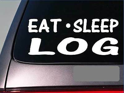 2-Logger Skull Vinyl Decal Sticker Logging Chainsaw Ax Trees Timber Lumber