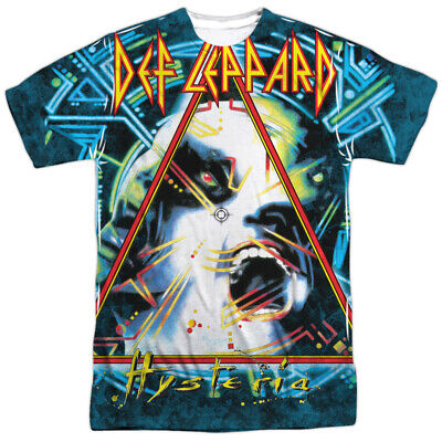 Def Leppard Hysteria Allover Sublimation Licensed Adult T Shirt