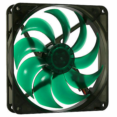 Nanoxia 140mm PWM Deep Silence Quiet PC Case Fan 700-1400 RPM, 4-Pin