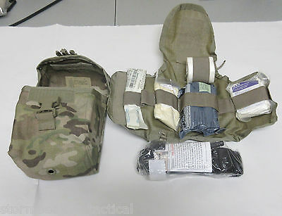 USGI First Aid Kit (IFAK) in multicam with new torniquent