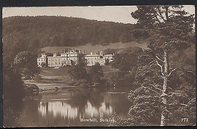 Scotland Postcard - Bowhill, Selkirk    A5698