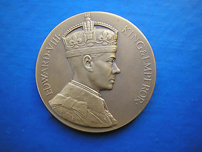 ROYAL CORONATION BRONZE MEDAL COIN MEDALLION 1937 MINT BOXED
