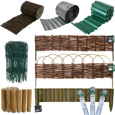 Lawn Edging Edge Border Fence Driveways Grass Pathways Plants Beds Garden Stakes