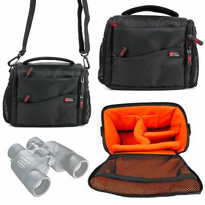 Padded Two-Zip Case for Olympus 8x40 DPSI, 10x50 DPS 1, 8-16x40 Zoom DPS I
