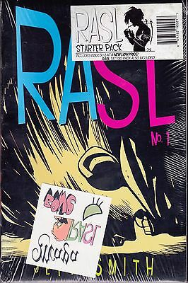 Rasl No.1, 2, 3, 4 and 5 by Jeff Smith, Starter Pack (Paperback, 2008-2009)